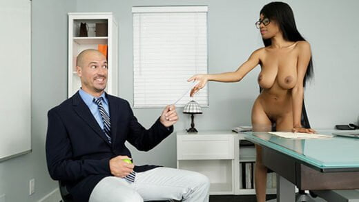 Free watch streaming porn BigTitsAtWork Brittney White My Naked Boss - xmoviesforyou