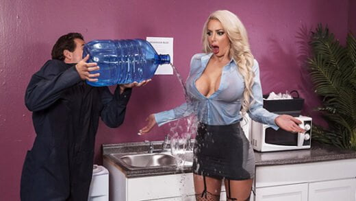 [BigTitsAtWork] Nicolette Shea (Water Cooler Cock / 09.14.2019)