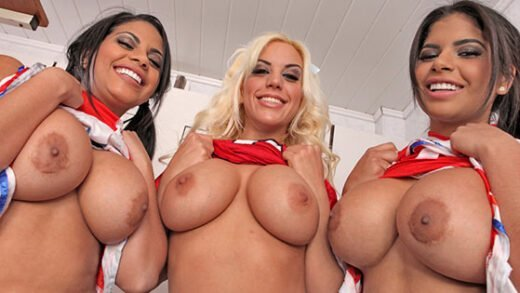 Free watch streaming porn BoldlyGirls - Blondie Fesser, Kesha Ortega, Sheila Ortega - Sex before the Big Game - xmoviesforyou