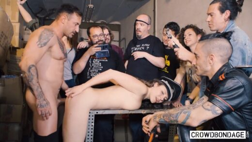 CrowdBondage - Sofia Curly, Beauty And The Bondage Beast