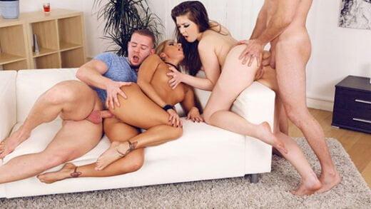 Free watch streaming porn EuroSexParties Sofi Goldfinger, Alisha Rage Eastern Euro Anal Orgy - xmoviesforyou