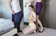 FamilyStrokes – Jordy Love, Kicked Out For The Stepsister Cooch