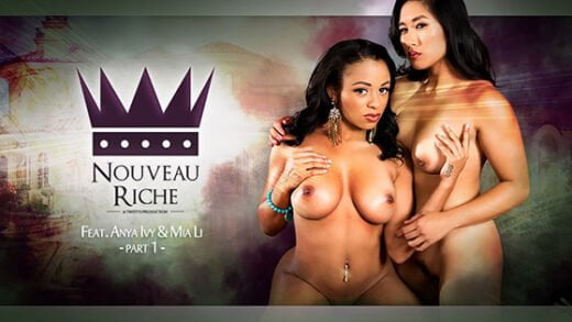 Free watch streaming porn FeatureFilms Anya Ivy, Mia Li Noveau Riche Part 1 - xmoviesforyou