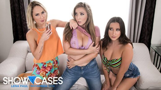 [GirlsWay] Carter Cruise, Ashley Adams, Lena Paul (2 Scenes In 1 / 11.04.2018)