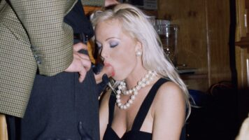 Private – Silvia Saint Sucks a Cock at a Party While Everyone Watches