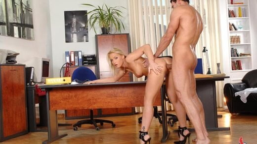 1By-Day - Kathia Nobili, Hot cum on her sweet ass!