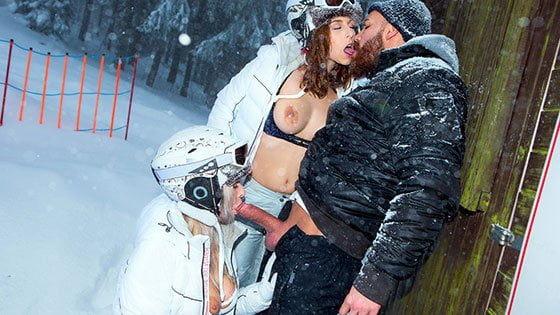 Free watch streaming porn DigitalPlayground Antonia Sainz, Nikky Dream Ski Bums Episode 3 - xmoviesforyou