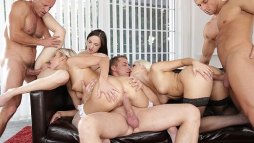 Free watch streaming porn DoghouseDigital Ria Sunn, Blanche Bradburry, Kristy Black Swingers Orgies 11 - xmoviesforyou