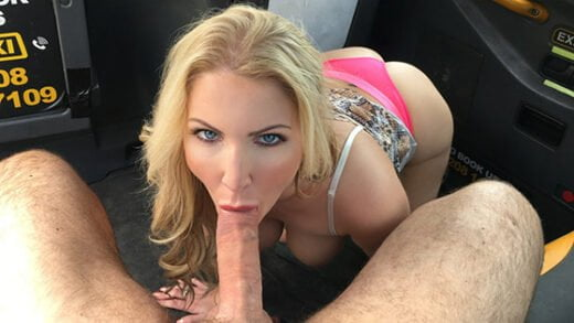[FakeTaxi] Georgie Lyall (Titwank rimjob hard sex and creampie / 09.30.2018)