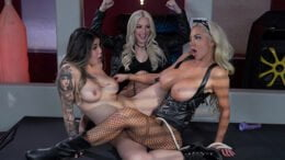 HotAndMean – Brenna Sparks, Nicolette Shea, Harlots Of Hell
