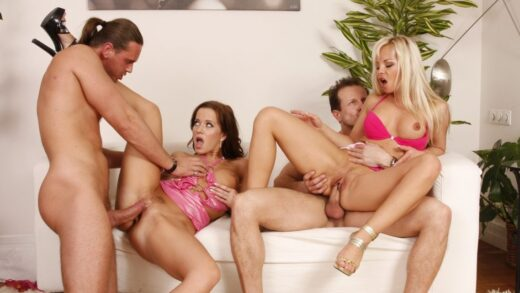 Milehighselection.com – 10 Dirty Ho's Volume 04, Scene #06 Cindy Dollar & Sharka Blue & George Uhl 2013 Big Tits