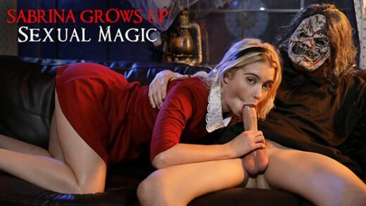 [NubilesET] Chloe Cherry (Sabrina Grows Up Sexual Magic / 10.26.2019)