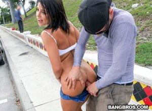 [PublicBang] Adriana Chechik (Adriana Squirts From Anal in Public / 08.19.2018)