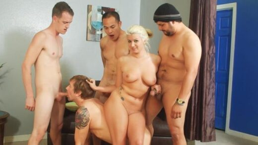 WhiteGhetto – Layla Price, Bi Cuckold Gang Bang