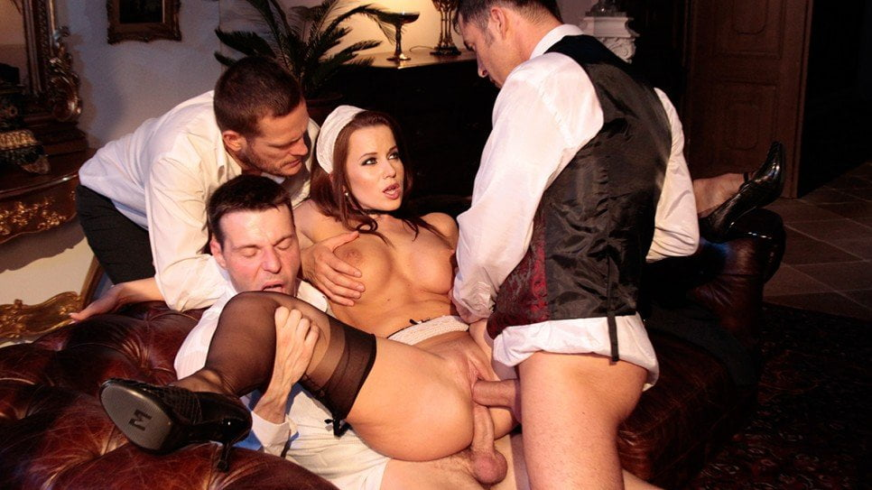 DorcelClub - Cindy Dollar, The Maid Given Up To 3 Men