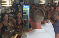 CzechGangBang – Evelin and Silvie, Orgy Sex With Two Barmaid