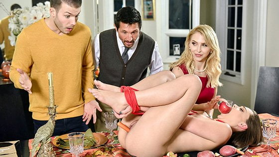FamilyStrokes – Alix Lynx And Aften Opal – Thanksgiving Fuck Fest, Perverzija.com
