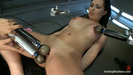 FuckingMachines - Angell Summers, Our French Beauty Returns for More Crying, Full Release Orgasms