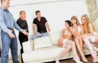 DogHouseDigital – Gina Gerson, Leyla Black, Shalina Devine, Swingers Orgies #05, Scene 2
