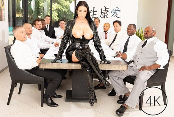 JulesJordan – Angela White, Angela White's Dark Side Her Biggest Gangbang