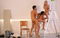 LosConsoladores – Sicilia, Sasha Rose – Hot Spanish babe gets cum covered in consoling threesome with blonde wife