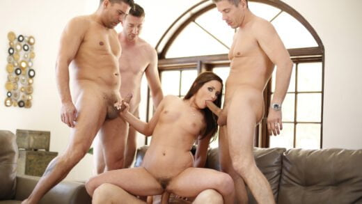 NewSensations – Hope Howell, My Hotwife's Gangbang