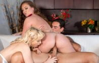 ScamAngels – Maddy OReilly And Chloe Cherry – Two sexy beauties and a big dick – Double The Stakes