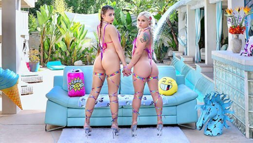 [Swallowed] Bella Jane, Gia Derza (Hungry For Dick / 11.22.2019)