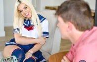 TeenPies – Allie Nicole – Schoolgirl Sperm Injection