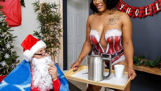 [AssParade] Mimi Curvaceous (Santas Cumming Down Her Chimney / 12.23.2019)