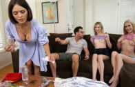 BrattySis – Emily Willis, Sky Pierce, Thanksgiving Day Sex With Pilgrims And Pussies