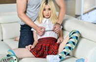 ExxxtraSmall – Kristy May, Car Trouble Cooch Pounding