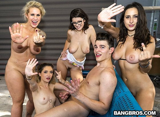 FuckTeamFive – Ashley Adams, Jane Wilde, Ryan Conner, Michele James – Squirting Fuck Team Orgy, Perverzija.com