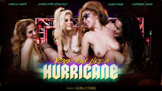 [Girlcore] Karla Kush, Charlotte Stokely, Katrina Jade, Lena Paul (Rock You Like A Hurricane / 11.28.2019)