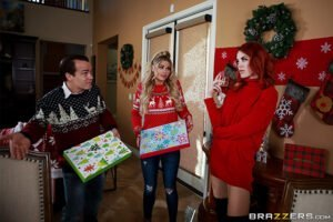 [HotAndMean] Jessa Rhodes, Molly Stewart (Horny For The Holidays Part 1 / 12.17.2019)
