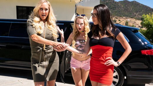 [MommysGirl] Brandi Love, Scarlett Sage, Dava Foxx (My Mom Does What / 12.07.2019)