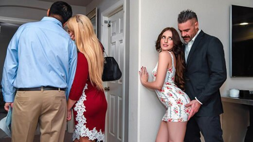 SneakySex - Aubree Valentine - Open House For A Slut