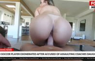 BangFakeNews – Lena Alexis, Gets Her Pussy Fucked By A Professional Soccer Player
