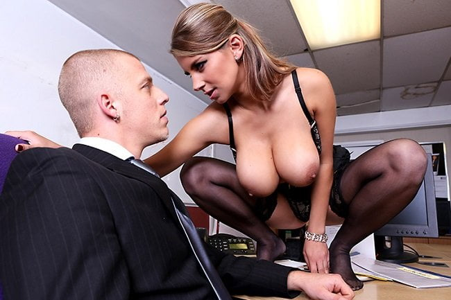 BigTitsAtWork - Katerina, Best Tits In The Office