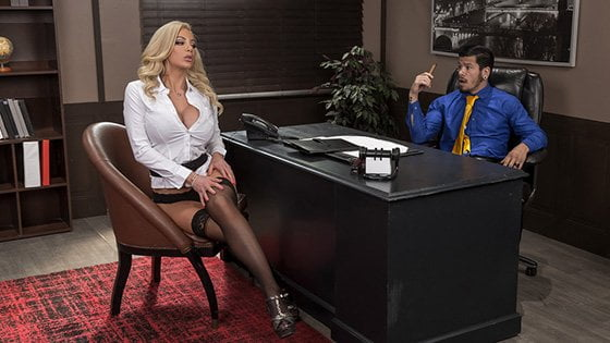 [BigTitsAtWork] Nicolette Shea (Boss For A Day / 01.01.2020)