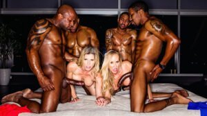 [BlackedRaw] Cory Chase, Brandi Love (BBC Club / 01.12.2020)