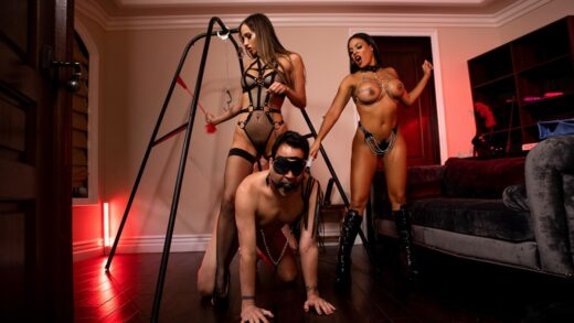 BrazzersExxtra - Luna Star And Desiree Dulce - The Dommes Double Dommed