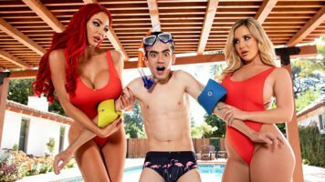 BrazzersExxtra – Nicolette Shea, Savannah Bond, Big Tits Save Lives