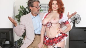 [Confessions] Annabel Redd (Gets Her Professors Hard Cock To Study / 01.07.2020)
