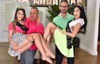 DaughterSwap – Audrey Hempburne, Lily Glee, Dad Dick For Lesbian Lovers