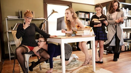 [GirlsWay] Penny Pax, Karla Kush, Jay Taylor (The Library Is Now Closed / 01.25.2020)