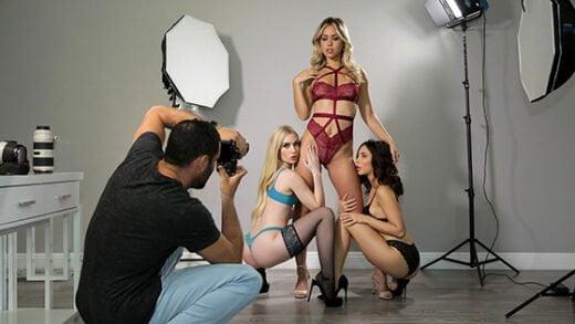 [NubileFilms] Emma Starletto, Jane Wilde, Alina Lopez (Photograph / 01.10.2020)