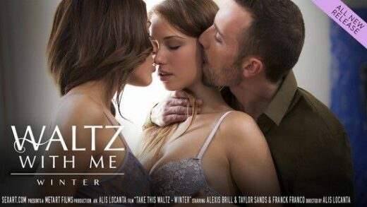 SexArt - Alexis Brill, Amarna Miller, Taylor Sands, Franck Franco, Juan Lucho, Waltz With Me - Winter