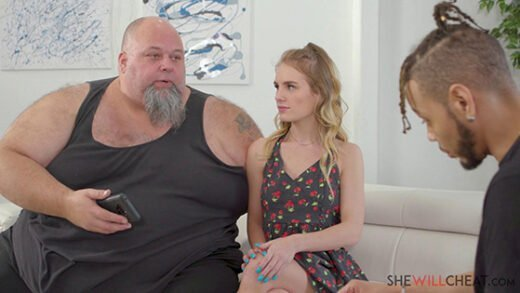 [SheWillCheat] Natalie Knight (Sexy young blonde Natalie Knight fucks BBC in front of her husband / 01.15.2020)