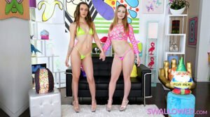 Swallowed – Kaitlyn Katsaros, Lexi Grey, Natalie Brooks Supreme Dicksucking, Perverzija.com